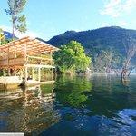 Yoga Platform Hostel del Lago