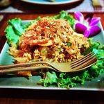 Pomelo pork and shrimp salad