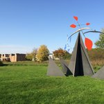 Spend some extra minuts in this small but great sculpture garden