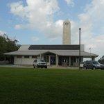 Visitor centre at battllfield