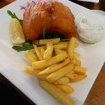 Buttered Corjun Fish & Chips