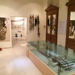 inside the museum and the history of weaving the traditional Sadu