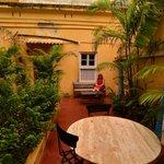 patio privé