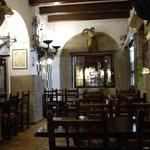 Interior of Hosteria Del Laurel