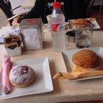 desayuno perfecto;) grazie mille