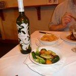 Protea Sauvignon Blanc, veggies and hand cut potato chips