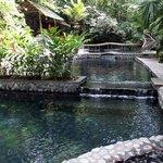 The beautiful Ecotermales Hot Springs