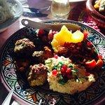Fresh colourful food - Dar Papillon