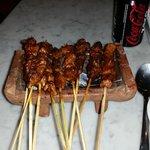 brochette Satay porc