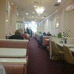 Nice decor, polite staff, decent food