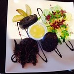 Haggis and Black Pudding Salad!