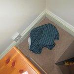 Underpants left in room