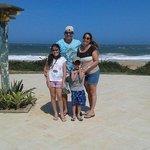 vista da praia da Costa Azul