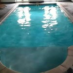 Lovely pool, decent size with plenty of loungers