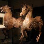 chevaux en bois Inde