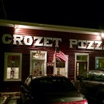 Entrance to Crozet Pizza