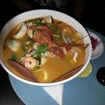 Супчик Фо с морепродуктами