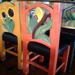 Neat chair detail