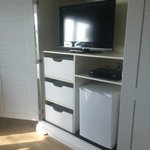 Nice Tv and armoire