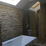 Heavenly bathroom with skylight!