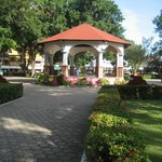 Plaza of Santa Cruz Huatulco is a short walk from the hotel