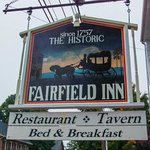The Historic Fairfield Inn Sign