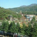 Mountain view from hotel -