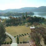 Lake view from hotel -