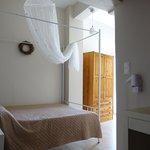 Bedroom - balcony toward the right