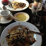 Fabulous Wine, Fantastic Veal Marsala & Friendly- Talented Chef @ Gianni's