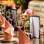 Table setting@siam balcony