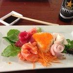 A Fabulous Sashimi Showpiece Dinner at Oudom Thai in Mount Dora