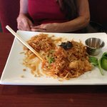 Pad Thai at Oudom Thai is Great