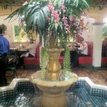 Nicaraguan food midst Spanish colonial architecture in Hialeah.
