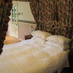 Queen bed in our suite
