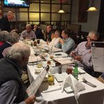 Rotarians meeting at The Cutting Board.