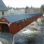 ‪Riverwalk Covered Bridge‬