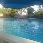 Pool at West Kimberley Lodge Caravan Park Derby.