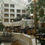 Холл и ресторан