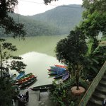 Phewa Lake across the hotel