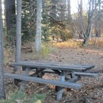Picnic Table, Nature Trail Section of Gatekeepers Museum Park