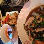 Pad Thai and Chicken cashew stirfy