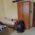 Dorm room/bed
