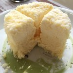 Double cheese cake is sooooo delicious, you can taste 3 kinds of tastes in this cake. !!Must try