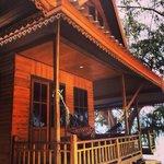 Our beachside cabin