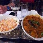 Chicken Dansak & Rice
