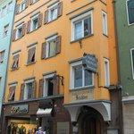 Frente del Hotel Feichter