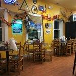 Rustiqe and clean restaurant