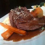 Braised Fillet of Irish Beef with a selection of in season vegetables