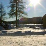 Terrain hiver